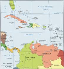 Map Of World Oceans by Caribbean Map Caribbean Sea Map Caribbean Atlas Caribbean