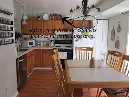 Adding Cabinets Above Kitchen Cabinets Kitchen Makeover Progress