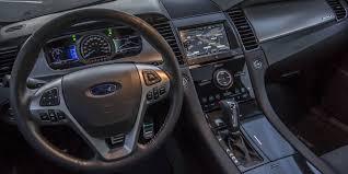 Taurus Sho Interior Car Review 2015 Ford Taurus Sho Driving
