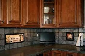 tile backsplashes for kitchens ideas backsplash tile for kitchen ideas a retro in mustard and chocolate