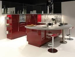 get the different sense of unusual kitchen set design