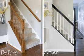 Painting Banister Spindles New Project How To Paint A Stairwell That Lasts Craving Some