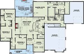 floor plans with great rooms modern house plans plan with vaulted great room cottage