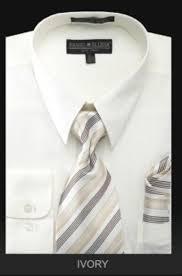 men u0027s dress shirt premium tie ivory