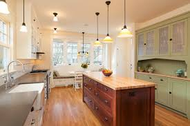 galley kitchen with island layout interesting