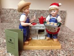 denim days home interior new denim days cookies for santa figurine home interiors homco
