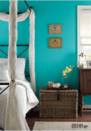 by selecting behr paint in tropics for your walls your bedroom