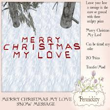 marketplace merry christmas love snow message