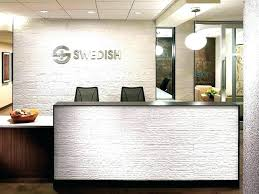Small Reception Desk Ideas Office Reception Area Ideas Reception Desk Designs Mirrored