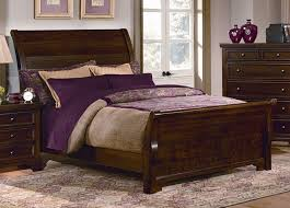 Toddler Sleigh Bed Bedroom Design Captivating Cherry Wood Sleigh Bed Design