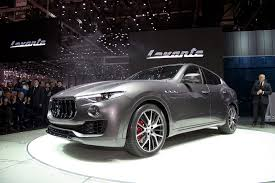 maserati road maserati u0027s first suv will be diesel only for the uk by car magazine