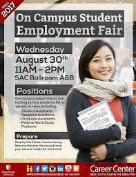 Resume For On Campus Jobs by Stony Brook University On Campus Job U0026 Internship Fair