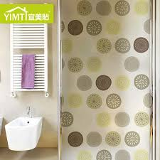 sliding glass door window clings abstract frosted glass film window stickers bathroom glass sliding