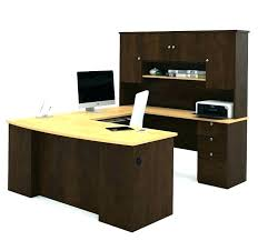office desk with hutch desk with hutch desk click u shaped desk