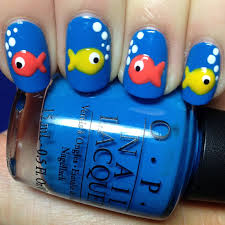 cute fish nails discovered by daughter of hermes