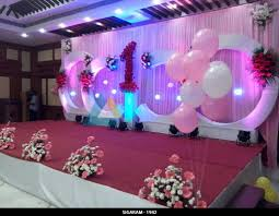 home design birthday party decoration at shenbaga hotel and