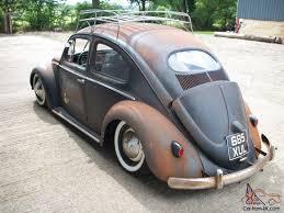 vintage volkswagen bug vw beetle 1953 oval slammed award winning rat bug classic vw