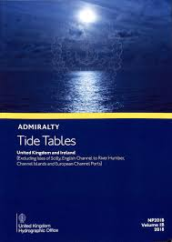 Anchorage Tide Table Admiralty Tide Tables Volume1b 2018 United Kingdom And Ireland