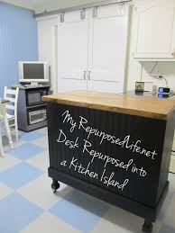 repurposed kitchen island black kitchen island update my repurposed