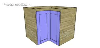 How To Finish The Top Of Kitchen Cabinets How To Build Corner Kitchen Cabinets U2013 Designs By Studio C