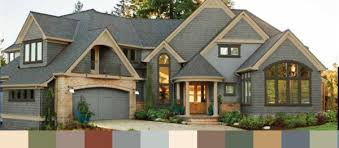 midnight blue trim and sandstone siding google search exterior