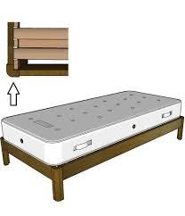 solid oak single bed frame 3ft