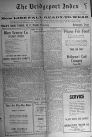 Car Bill Of Sale Texas by Index Of Names From The 1925 U0026 1939 Bridgeport Index Newspaper