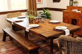 Diy Farmhouse Table Ikea Hack