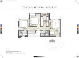 2bhk floor plan kalpataru paramount at thane mumbai price plans reviews