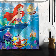 The Little Mermaid Shower Curtain 15 Attractive Mermaid Home Decor Ward Log Homes