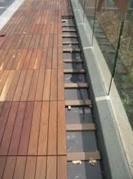 leak proof outdoor deck floor covering germany frankfurt eco