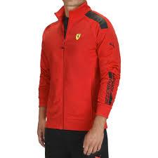 ferrari clothing men men s puma scuderia ferrari track jacket by ferrari choice gear