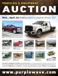 sold april 26 vehicles and equipment auction purplewave inc