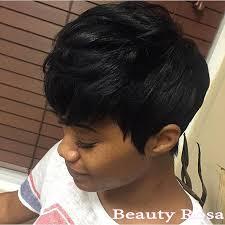 elegance beauty short hairstyle virgin human 28 pieces short hair