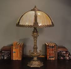 tall ornate h a best aladdin s slag glass lamp sold on ruby lane