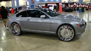 bmw staggered wheels and tires bmw 6 series coupe on 26 forgiatos staggered wheels 1080p hd