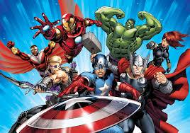 avengers comic wallpaper wallpapersafari disney avengers boys bedroom photo wallpaper wall mural room 963p