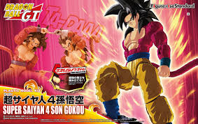 figure rise standard dragon ball gt super saiyan 4 son goku