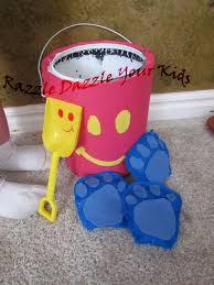 razzle dazzle your kids blue u0027s clues birthday party 2yrs