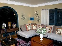Spice Up Your Casa SpanishStyle HGTV - Spanish living room design