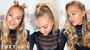 hair rings images images 3 easy hairstyles using hair rings halloween festivals more jpg