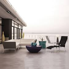 White Modern Outdoor Furniture by Introducing Seasonal Living Design Necessities