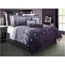 Glitter Bedding Sets Purple Satin Bedding Set Tokida For