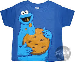 fye sesame toddler cookie all t shirt