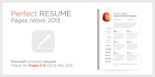 Resume Pages Template Iwork Resume Templates Free Resume Example And Writing Download