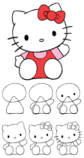 best 20 hello kitty drawing ideas on pinterest hello kitty