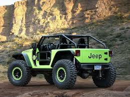 jeep driving away jeep wrangler trailcat has hellcat engine viper seats manual