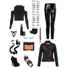 Shadowhunter Halloween Costume Shadowhunter Costume Isabelle Clary Polyvore