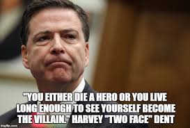 Two Face Meme - two face comey imgflip