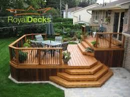 best 25 backyard deck designs ideas on pinterest backyard decks
